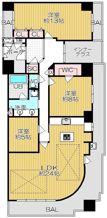 ビープレイスD棟 3,780万円
