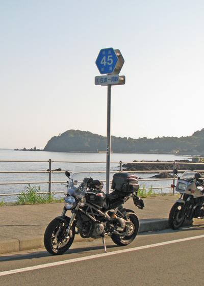 県道45号線 佐渡一周線 169.6km