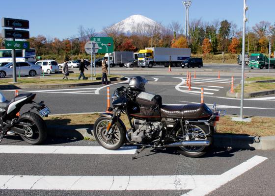 足利SAからの富士山