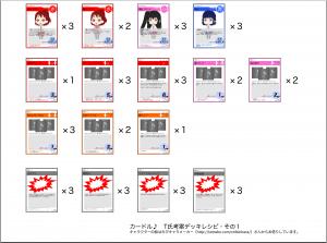 T氏考案デッキレシピ・その1