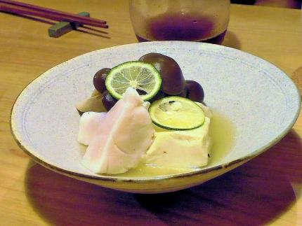 15-9-18 ほたての豆腐の蒸しもの