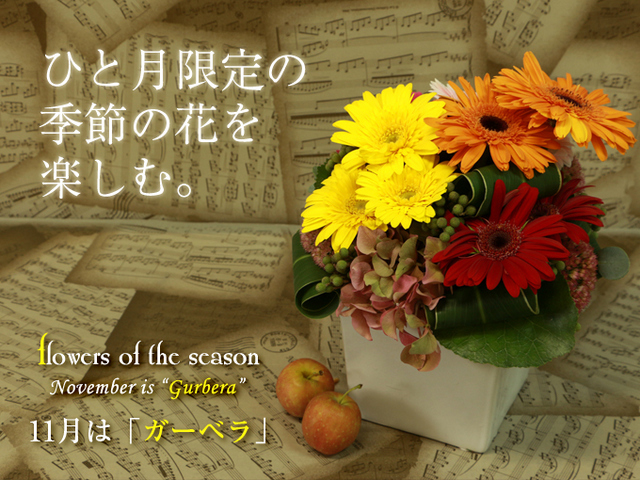 誕生日 プレゼント 花 人気 季節