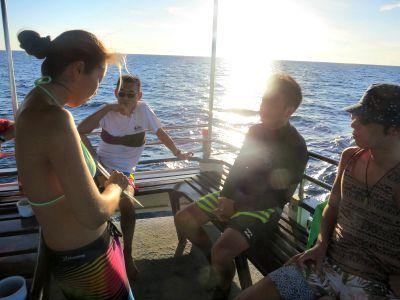 タオ島 ファンダイビング ブリーフィング