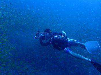 ちかや、水中写真、タオブログ
