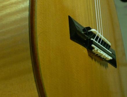 カエデのギターw/SuperChip