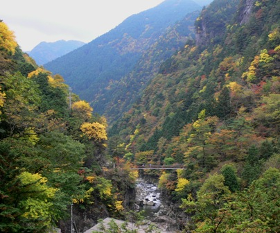 みたらい渓谷