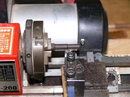 アルハープのナットピン製作