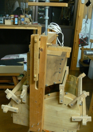 bending machine full view