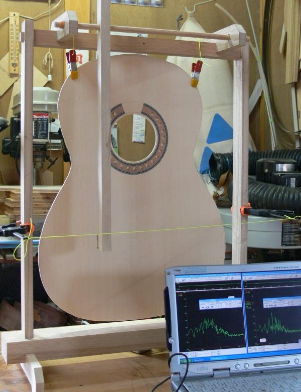 響板振動解析装置