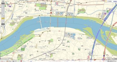 紀の川地図