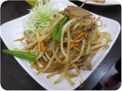 豚バラ生姜焼き