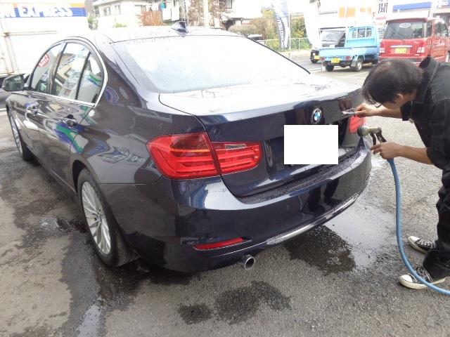 BMW320d濃紺