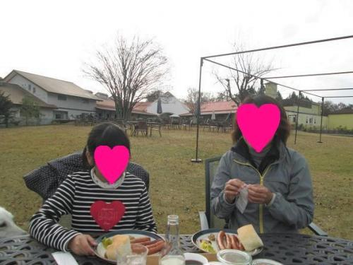 賑やかなリンゴ畑3
