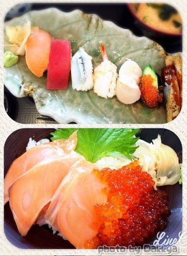 奈良公園 お寿司