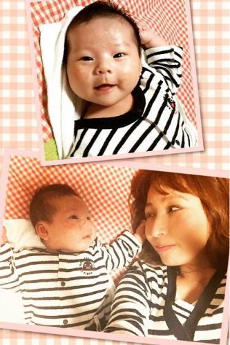 赤ちゃん(*´ω`*)姪っ子とだっきゃ ボーダー ペアルック