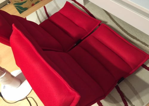 座椅子 赤