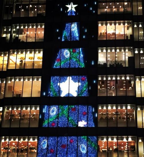 クリスマスイルミネーション ルクア