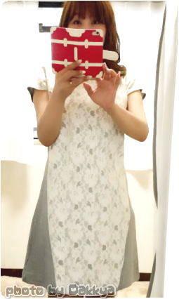 MUSE&Co.ミューズコーで購入した服 だっきゃ着画