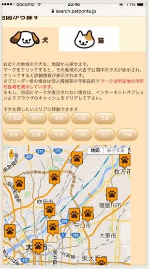 ペット検索サイト【ペットポンタ】