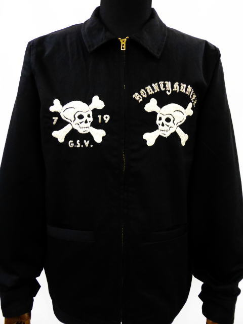 GANGSTERVILLE×BOUNTY HUNTER 127% B×G-JACKET