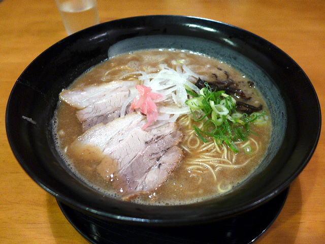 博多ラー麺とんこつ屋 わっしょい@01純とんこつラー麺 1