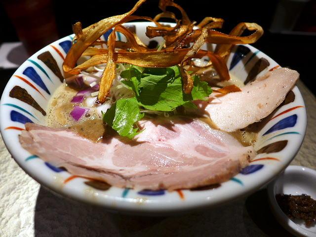 鶏 soba 座銀 にぼし店@01煮干し吟醸nigori 1