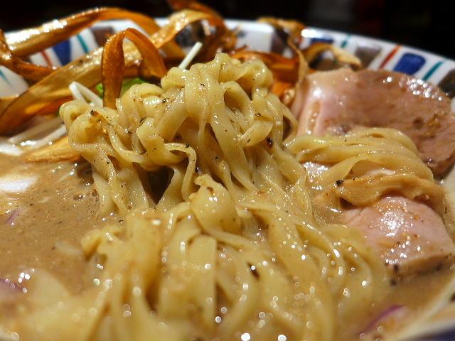 鶏 soba 座銀 にぼし店@01煮干し吟醸nigori 3