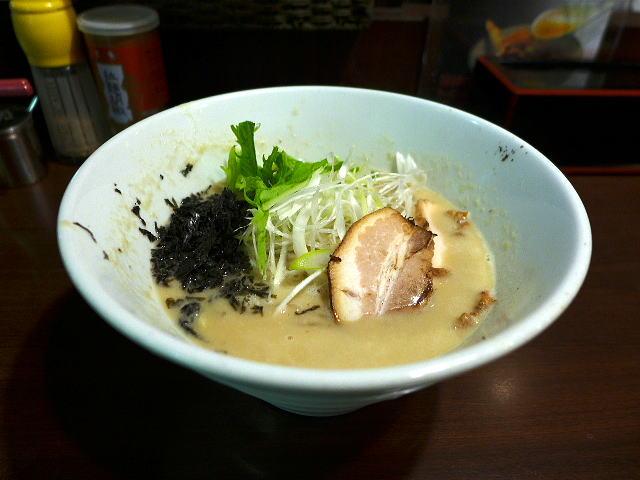 つけ麺ラーメン みなとや 神戸@01こってりラーメン 1