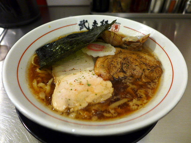 武者麺 SEA@01魚貝醤油ラーメン 1