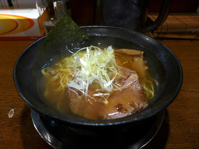 麺や 西や@02鶏魚介醤油(細麺) 1