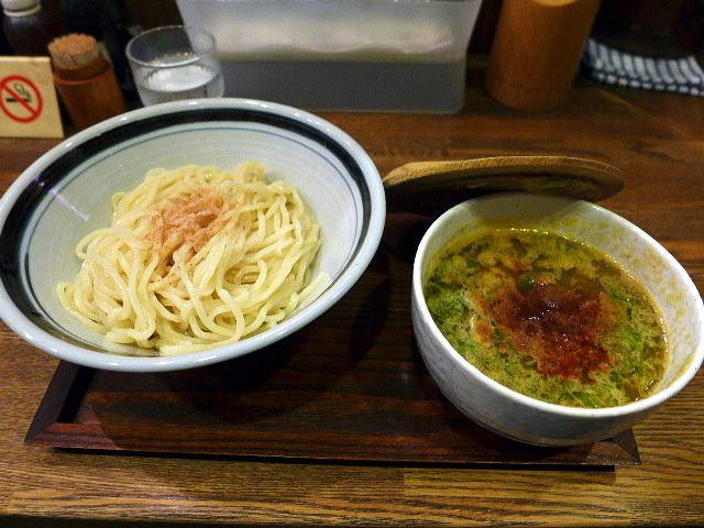 麺屋 花壱@02魚だしつけ麺 1