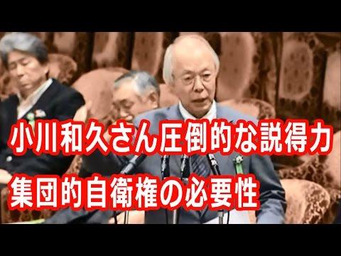 小川和久国会中継(2015/7/1)平和安全特別委員会