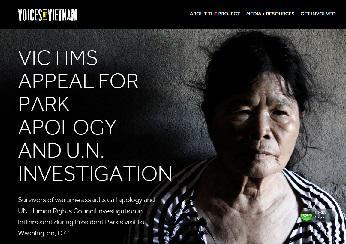 ベトナムの被害者たちは国連による調査も要求している。