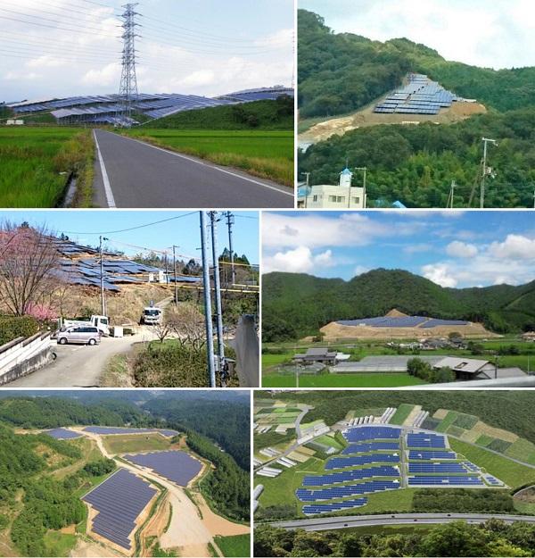 太陽光発電は、自然を破壊し、災害の原因となる。メガソーラーパネルで日本の土砂災害リスクが・・
