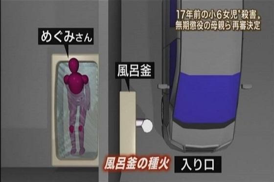 青木めぐみさん放火殺害 現場見取り図