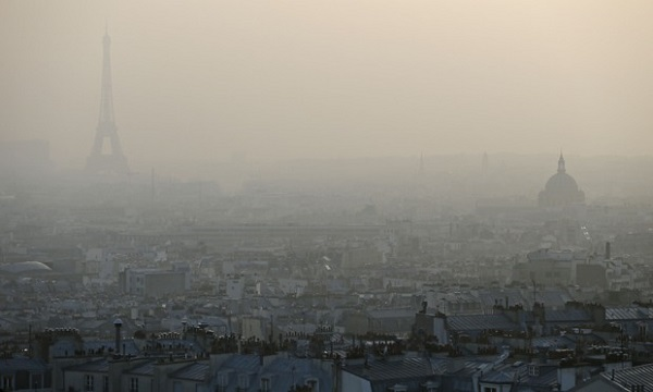 VW車などのディーゼル車が7割を超すパリの大気汚染(2014年)