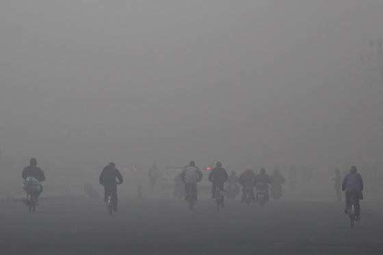 北京の大気汚染(2013年)