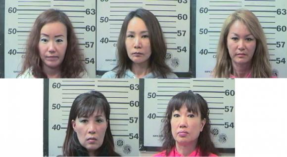 アラバマ州モービル市で 売春行為をしていた韓人(コリアン)の女が大量に摘発された。