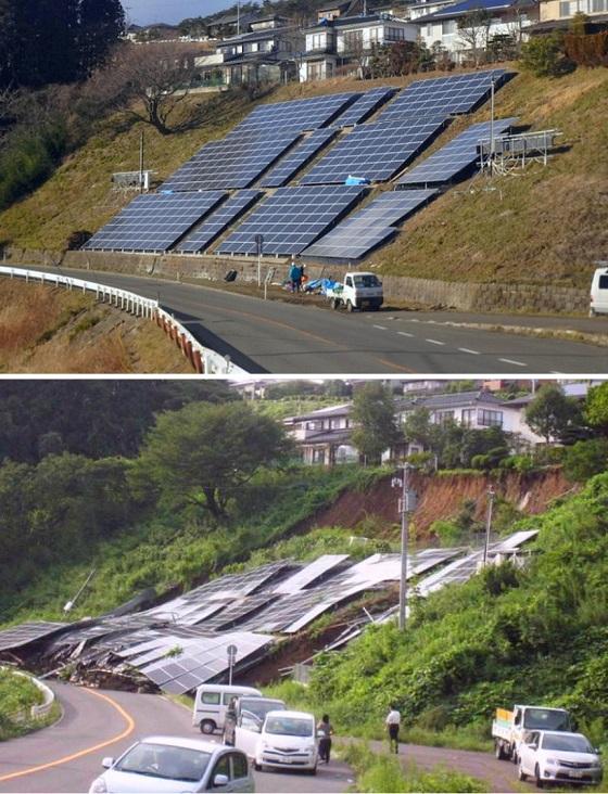 太陽光発電は、自然を破壊し、様々な災害の原因となっている