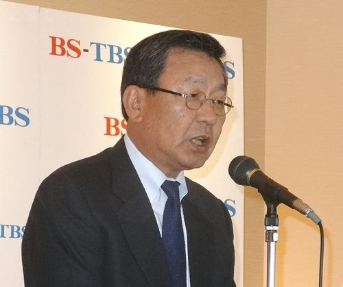 TBSの武田信二社長