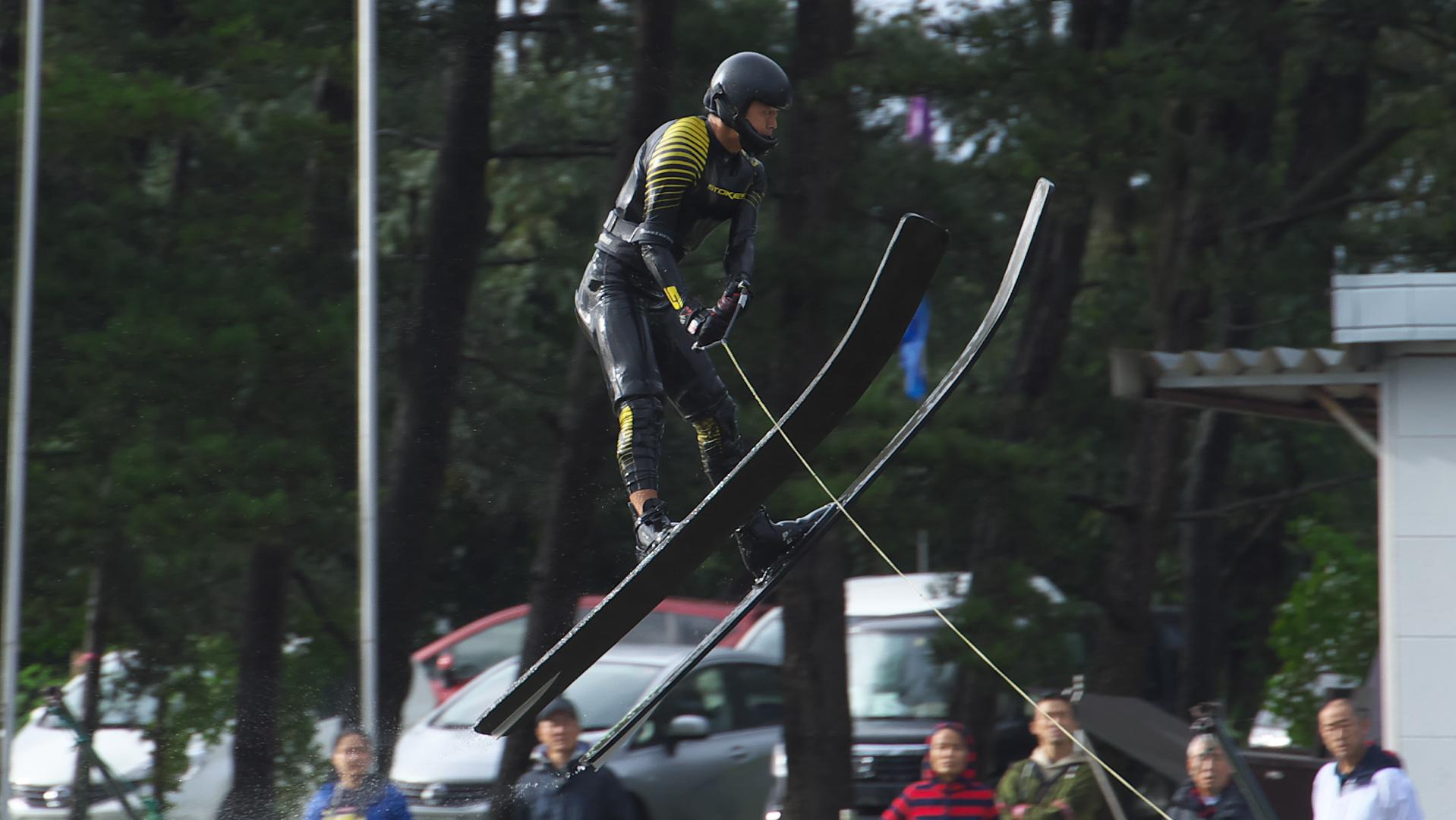 2015インカレ男子ジャンプ優勝