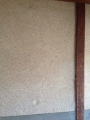 玄関柱壁全体