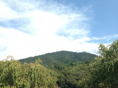 秋分の日の三輪山