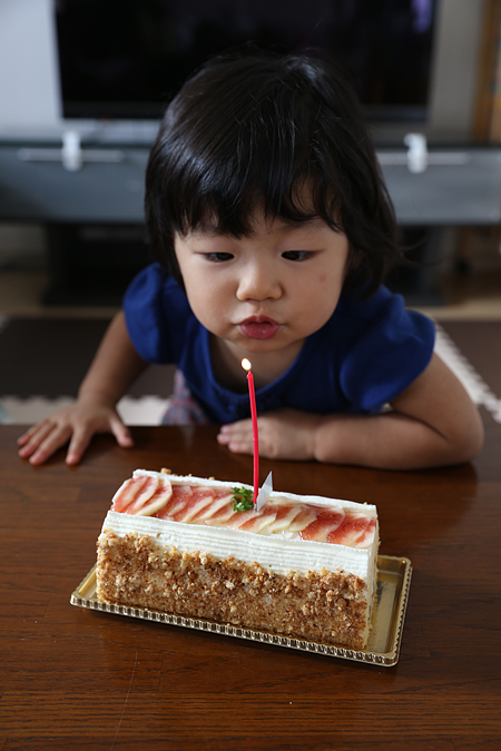 連続でケーキ