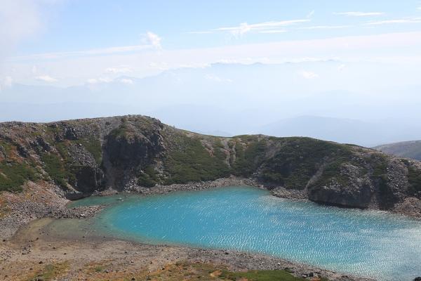 三の池が見えた。美しい。