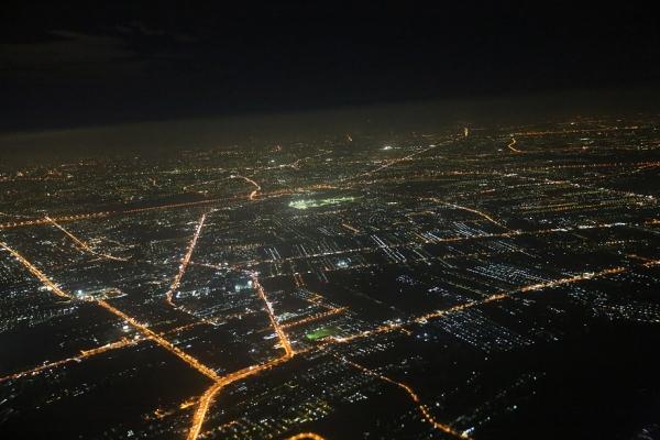 スワンナプームの夜景