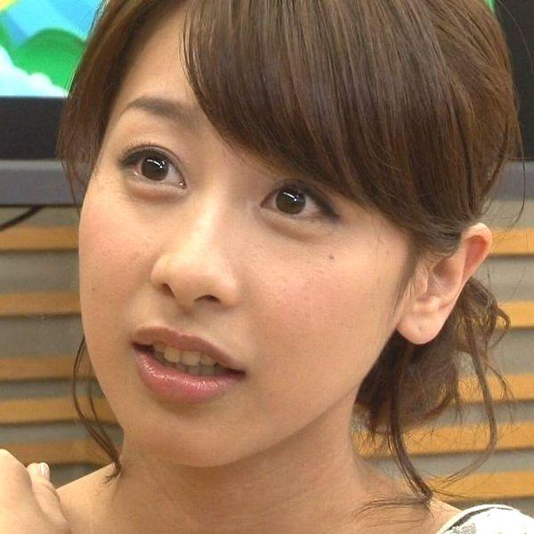 【アナウンサー】女子アナ加藤綾子-透けた陰毛-カトパンの衝撃パンチラ拡大画像