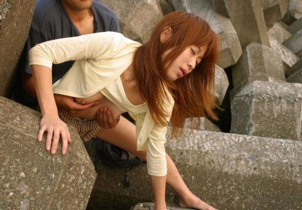 青姦 野外セックス 露出マニア エロ画像a052.jpg