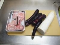 かんぱちあらと大根茄子の煮25