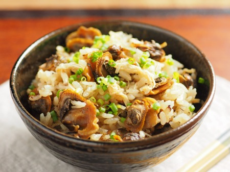 赤貝のフライパン炊き込みご飯14